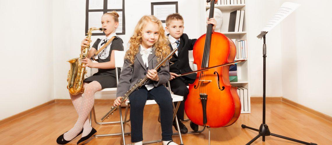 לימודי מוזיקה לילדים.